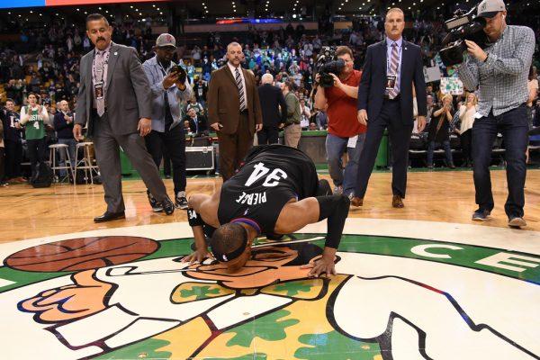 LA Clippers v Boston Celtics