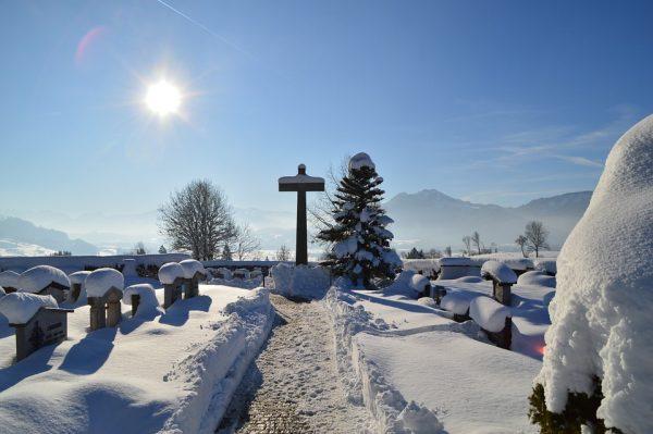 9. Üç gün boyunca kazılan mezarlar