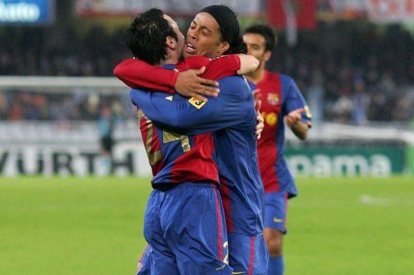 Andres-Iniesta-Ronaldinho