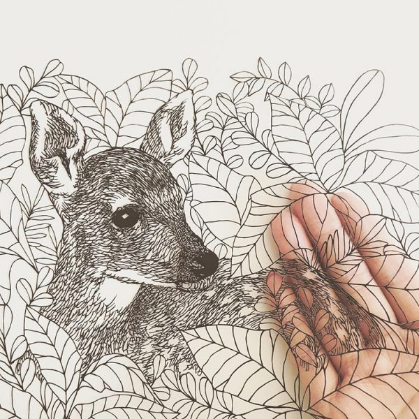 kanako-abe-kagit-illustrasyonları-7