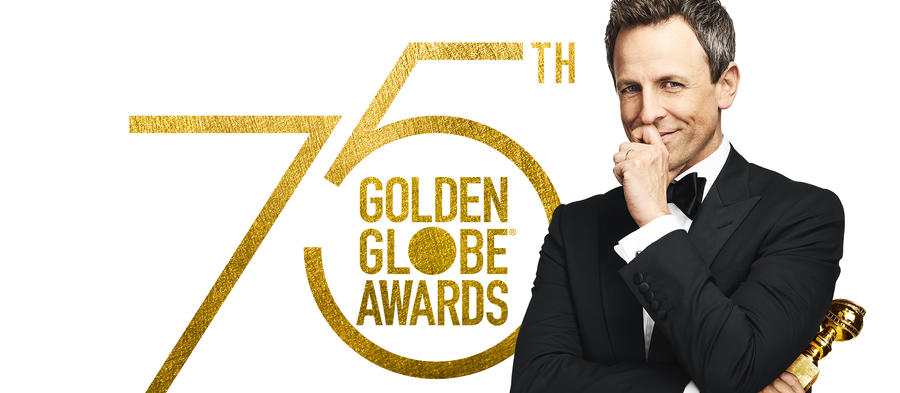 """GOLDEN GLOBE AWARDS (75TH ANNUAL)-- Pictured: """"Golden Globe Awards (75th Annual)"""" Key Art -- (Photo by: NBC)"""