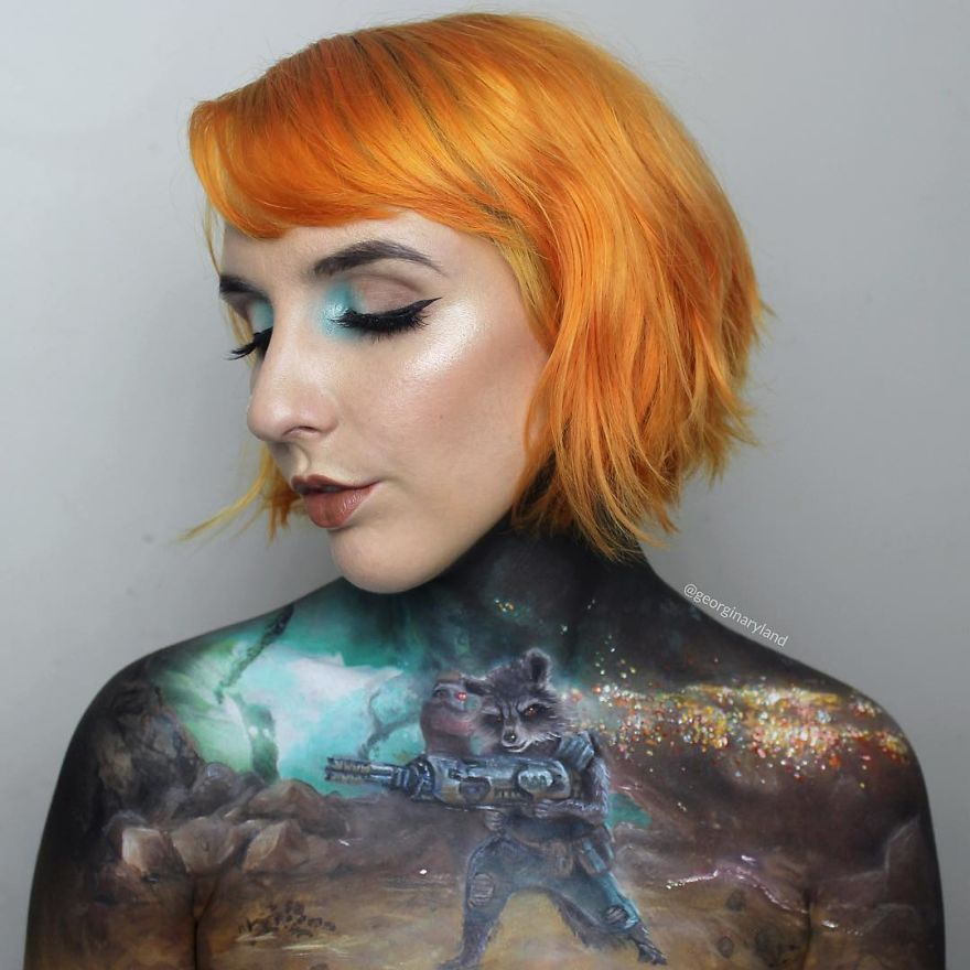 Makeup-artist-Georgina-Ryland-is-using-her-body-as-a-canvas-on-Instagram-creating-true-masterpieces-5a5812cfc96d8__880