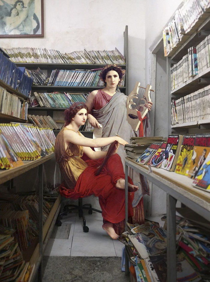 This-artist-mixes-classic-paintings-with-current-scenarios-and-the-result-is-very-goodNew-Pics-5a5338bae8c46__700