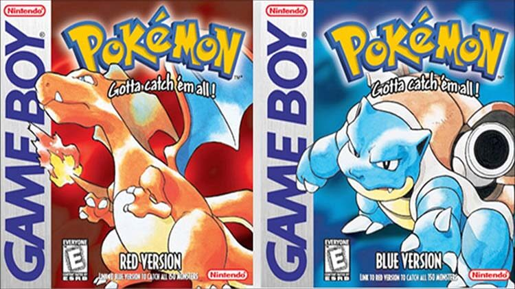 En Çok Satan 10 Oyun Pokeman Red and Blue