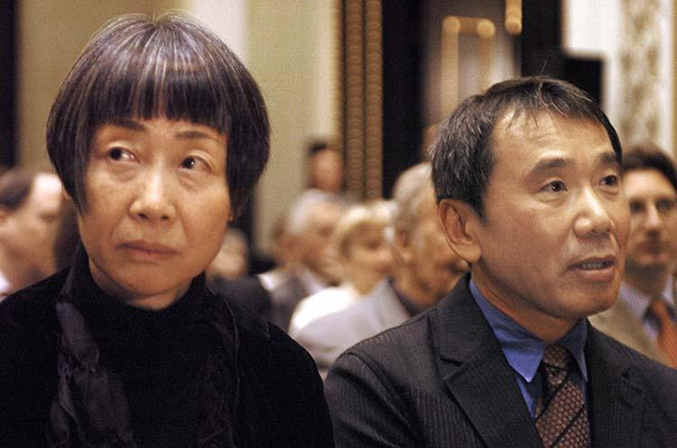 Haruki Murakami ve Eşi Yoko Takahashi