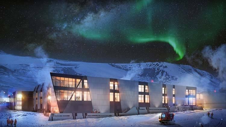 Antarktika Gece Kış
