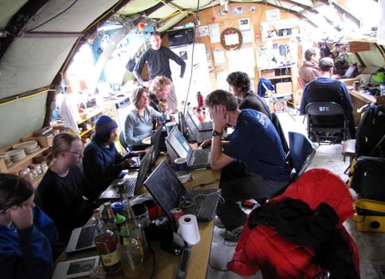 Antarktika internet