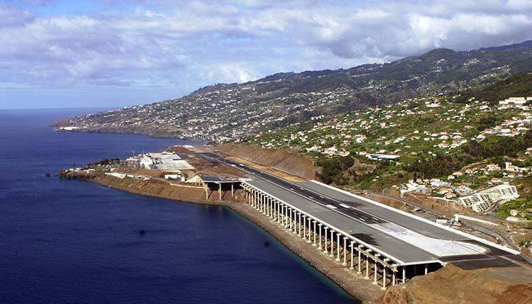 Dünyanın En Tuhaf Havaalanları Madeira Havaalanı