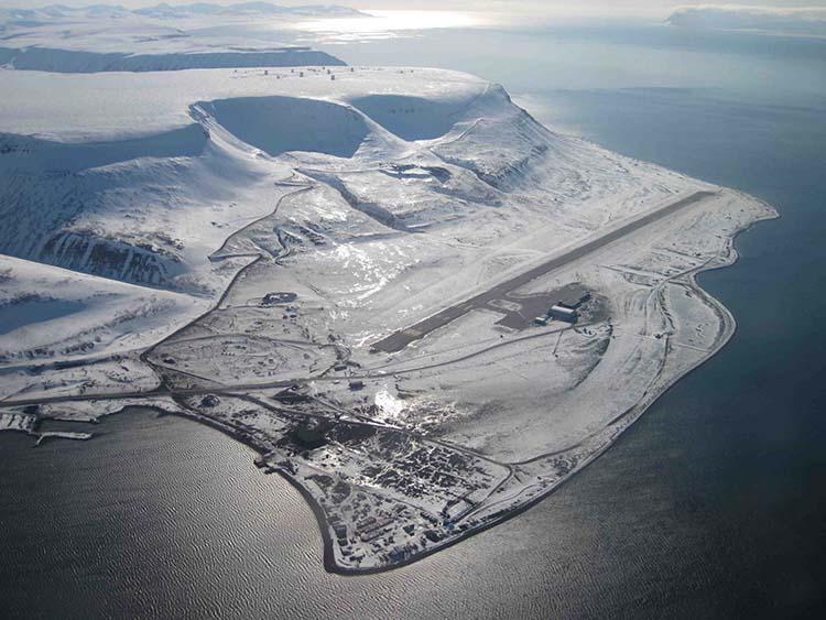 Dünyanın En Tuhaf Havaalanları Svalbard Havaalanı