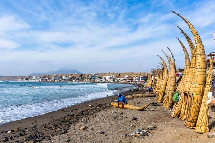 Ilıman iklimli yerler Huanchaco