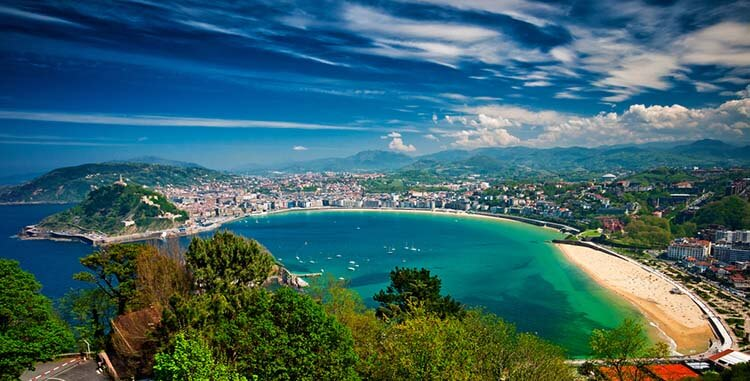 Ilıman iklimli yerler İspanya