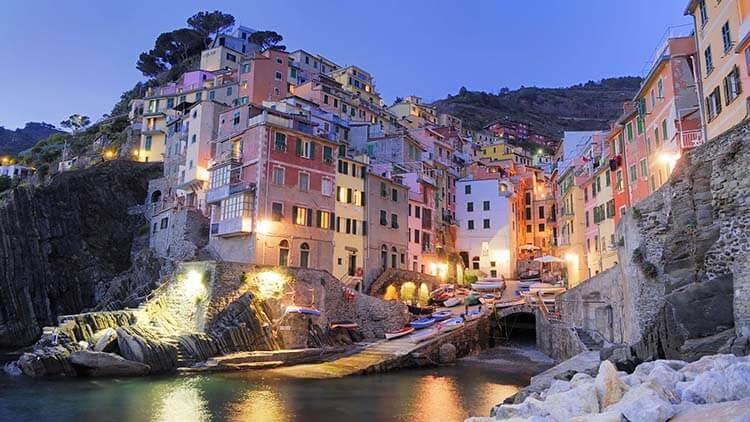 Ilıman iklimli yerler İtalya