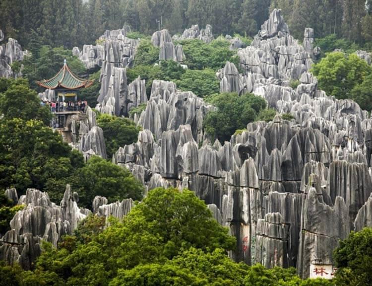 Ilıman iklimli yerler Kunming