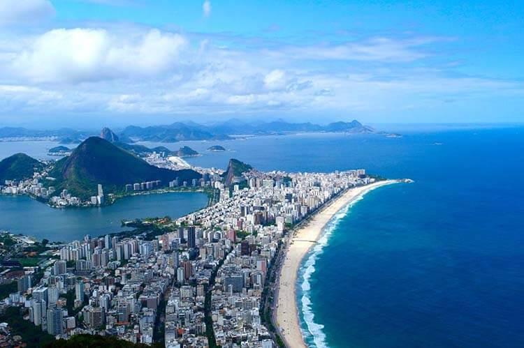 Ilıman iklimli yerler Rio