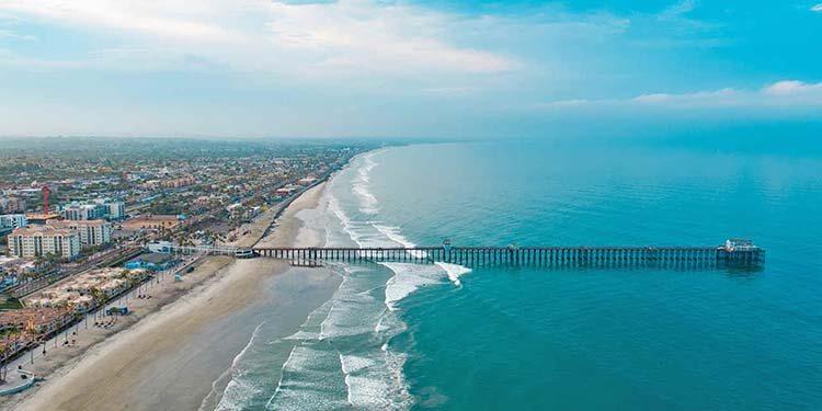 Ilıman iklimli yerler San Diego