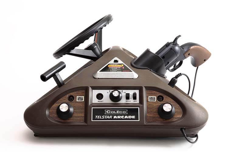 Tuhaf oyun konsolu Telstar Arcade