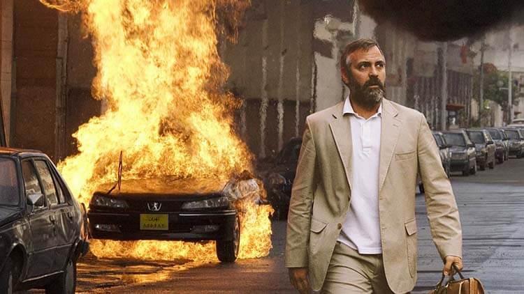 Vücuduna zarar veren oyuncular George Clooney Syriana
