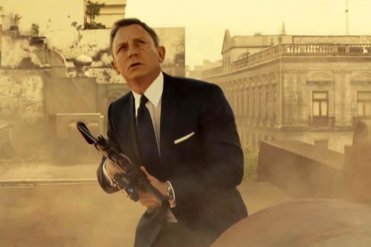 Vücuduna zarar veren oyuncular Daniel Craig Spectre