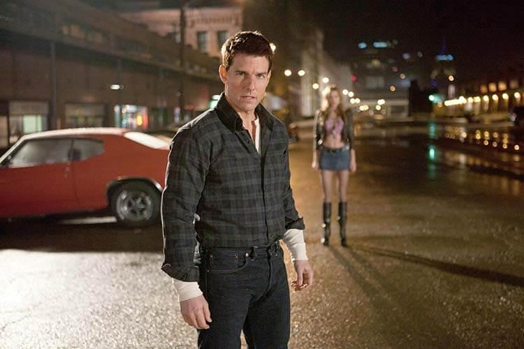 Vücuduna zarar veren oyuncular Tom Cruise Jack Reacher