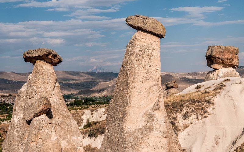 Peri Bacalari Nasil Olusmustur Kapadokya Daki Peri Bacalari