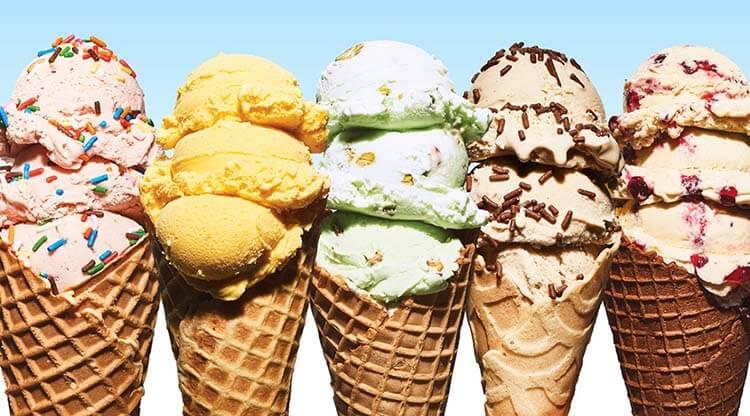 kalorisi yüksek yiyecekler dondurma