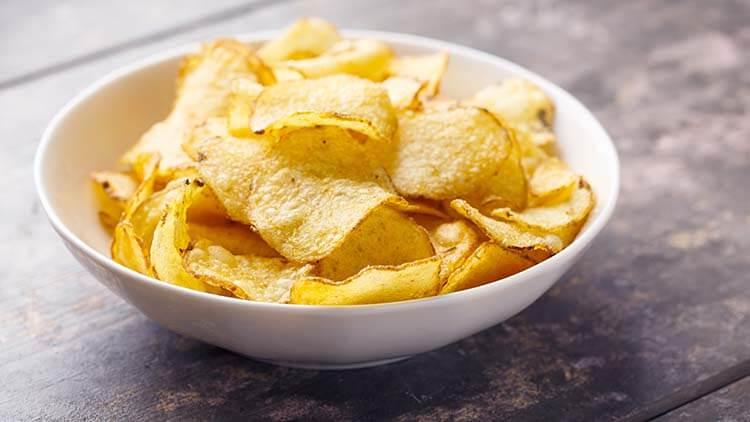 kalorisi yüksek yiyecekler cips