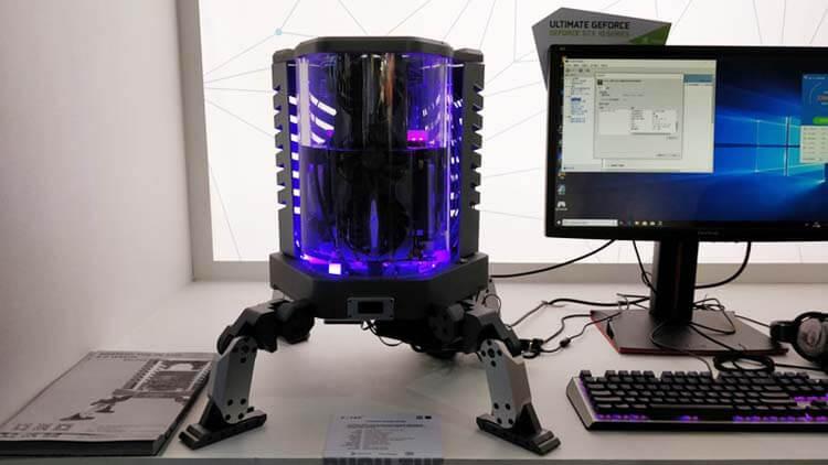 ilginç bilgisayar kasaları zotac immersion cooling prototype