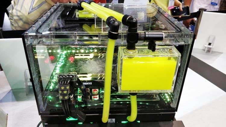 ilginç bilgisayar kasaları g-skill-immersion-cooling