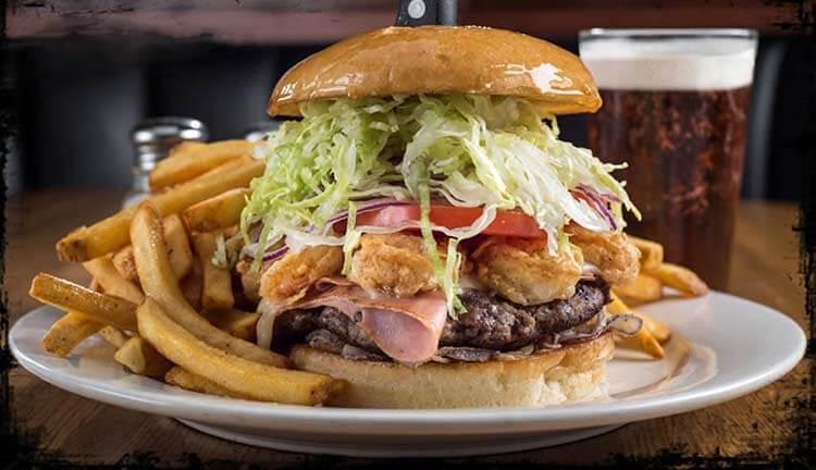 kalorisi yüksek yiyecekler dev burger