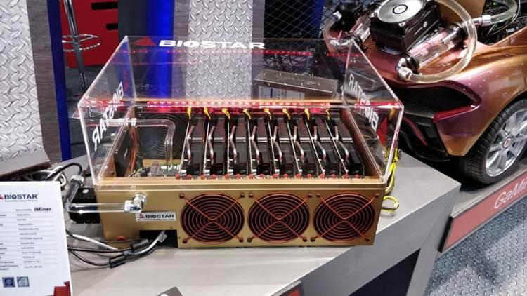 ilginç bilgisayar kasaları biostar ironman miner