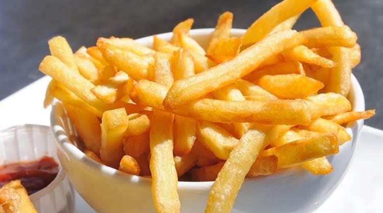 kalorisi yüksek yiyecekler patates kızartması
