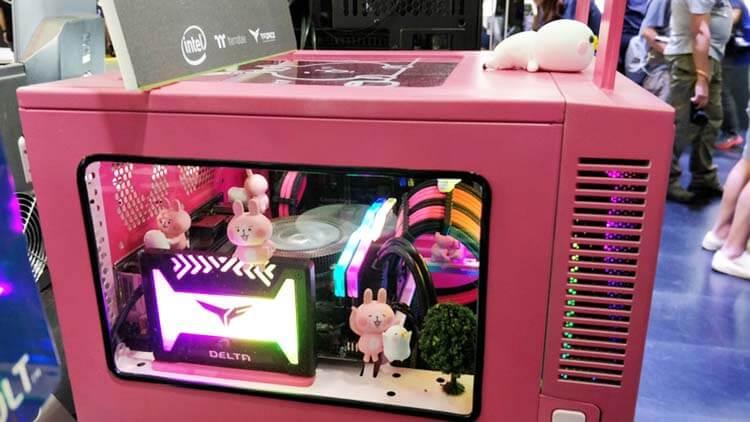 ilginç bilgisayar kasaları asrock pink z370