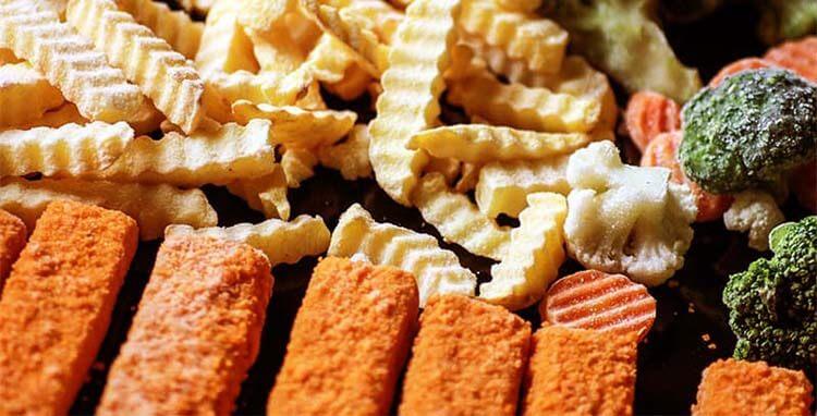 kalorisi yüksek yiyecekler dondurulmuş gıdalar