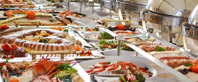 kalorisi yüksek yiyecekler açık büfe