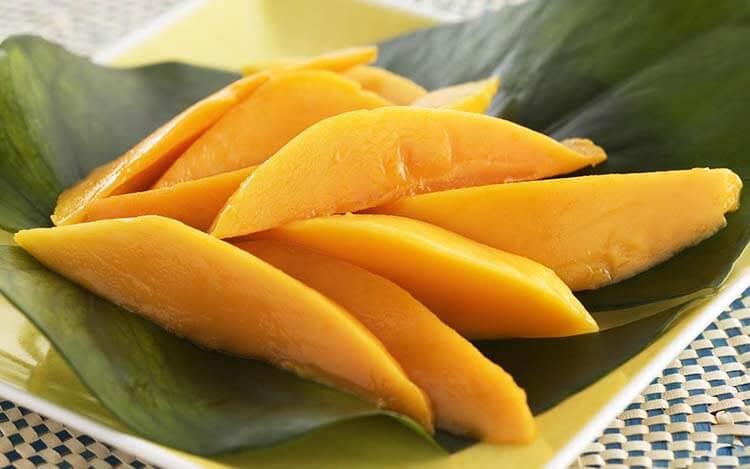 meyve şeker oranı mango