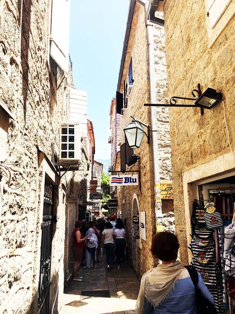 Karadağ Budva eski şehir