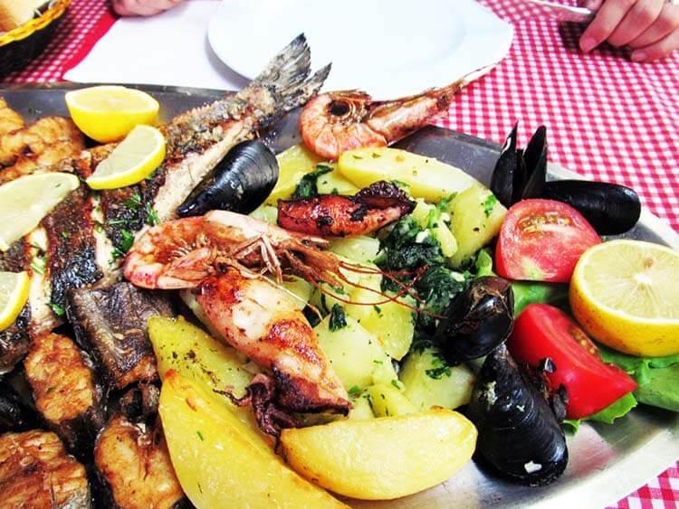 Karadağ deniz ürünleri