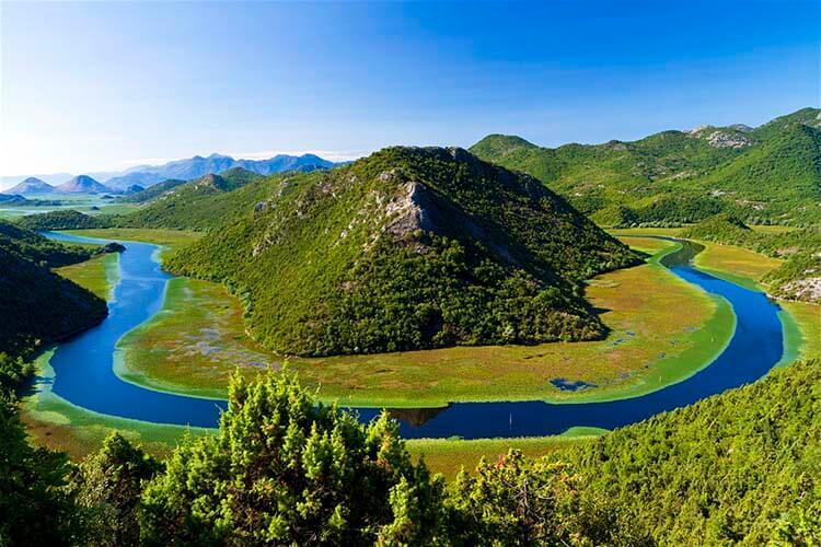Karadağ İşkodra Gölü