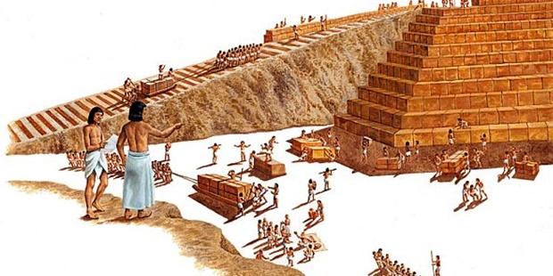 piramitlerin yapımını gösteren resimler ile ilgili görsel sonucu
