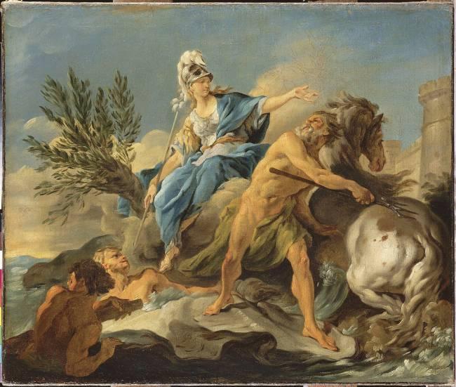 Poseidon ve Athena'nın, Atinapolis'in Baş Tanrısı Olma Yarışı