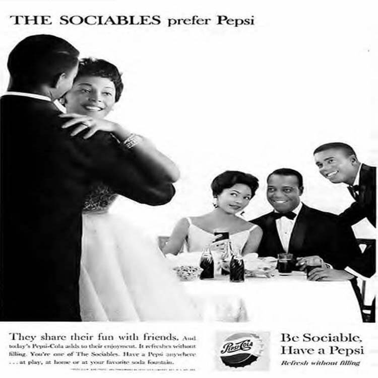 Pepsi hakkında ilginç bilgiler - Pepsi ırkçılık bariyerlerini yıktı