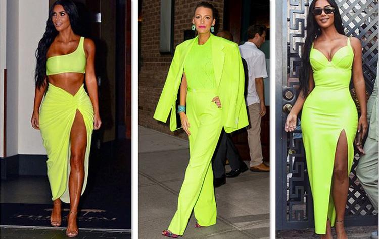 61a4d44cbae86 Bir süre gittiği her yerde parlaklığıyla göz alan Kardashian, 2019 trendini  önceden okudu ve sinyalini de verdi. 2012-2013 yılında da bir süre moda ...