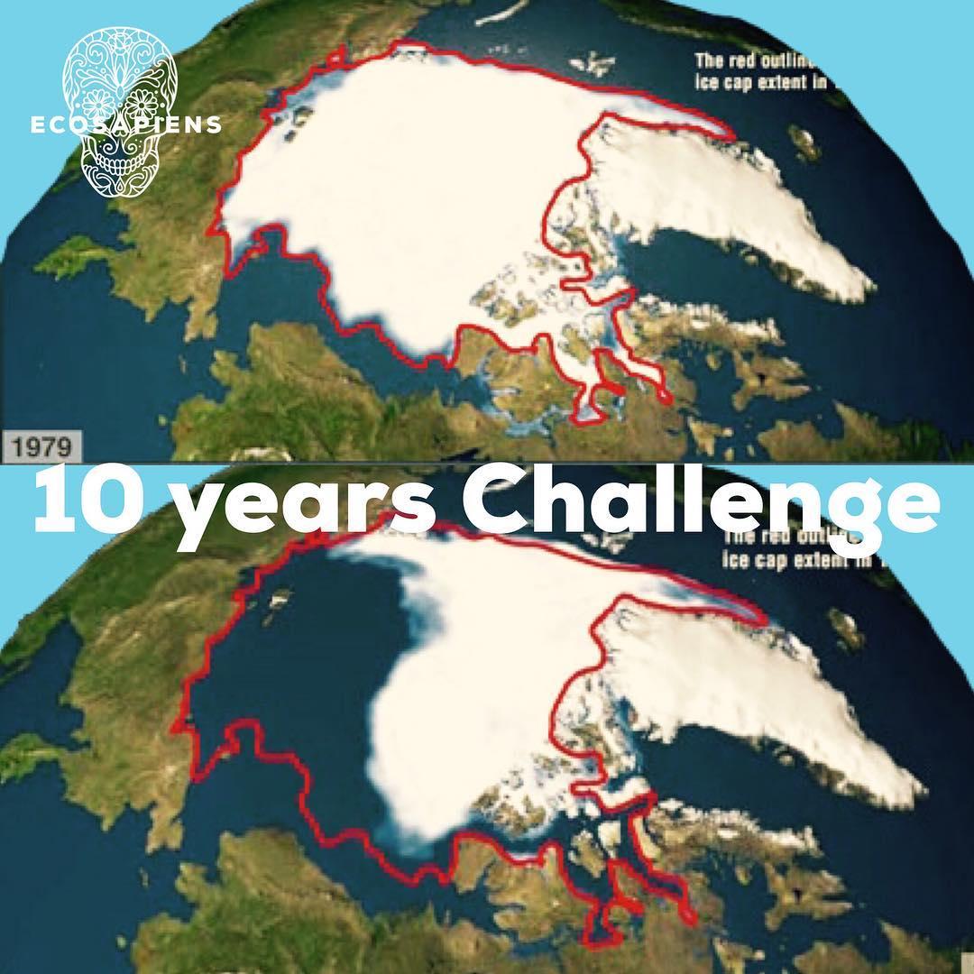 #10yearschaallenge