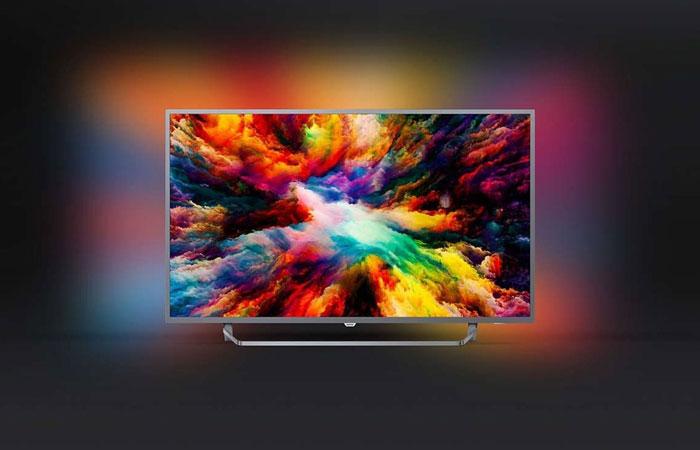 "1. Philips 55PUS7303/12 55"" 139 Ekran 4K Ultra HD Smart LED TV"