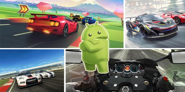Android Oyun Tutkunları Için 10 Harika Yarış Oyunu