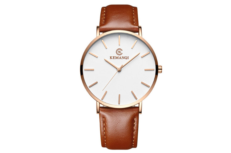Kemanqi 6.5 mm Ultra-thin Men's Watch 2019 (Erkek Saati)