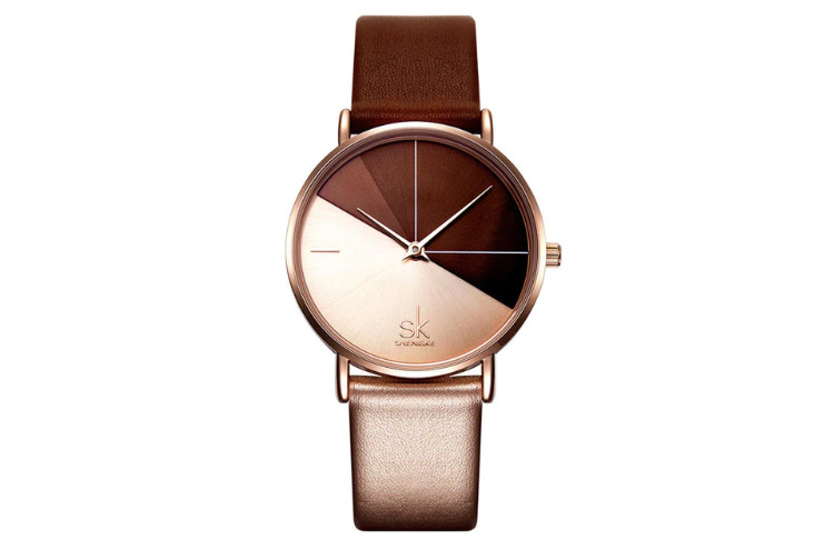 Shengke SK Luxury Leather Watches (Kadın Saati)
