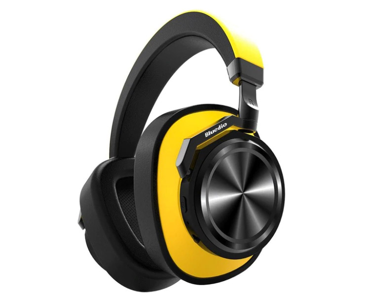 Bluedio T6 aktif gürültü önleyici Bluetooth kulak üstü kulaklık