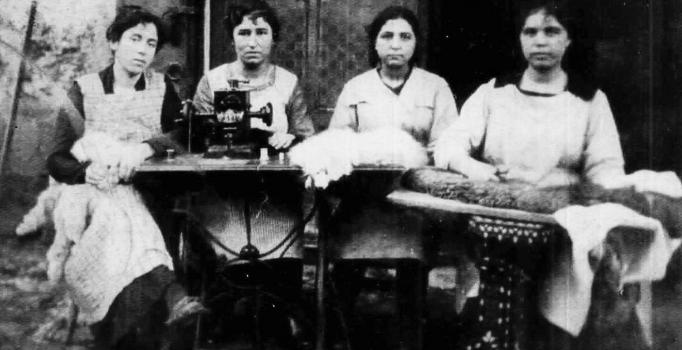 osmanlı kadın terziler