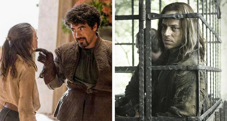 Syrio Forel, Jaqen H'ghar ve Arya